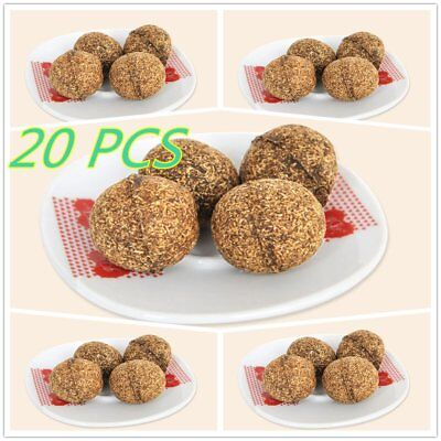 Outdoor Sport 20g Pets Dogs Cats Car Catnip Ball 3.2 CM Fun Playing Toy ZBU&@