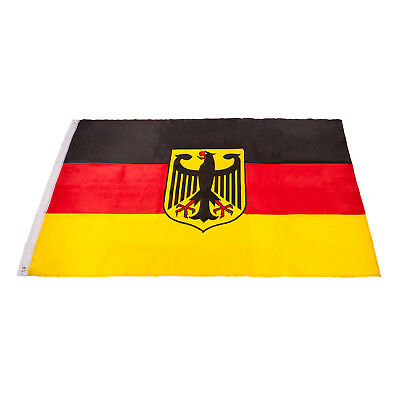 deutschland fahne flagge mit adler 90 x 150 cm xxl premium. Black Bedroom Furniture Sets. Home Design Ideas