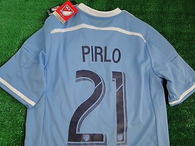 Kids New York City Shirt ** Pirlo **  2015-16 Xlarge Boys Bnwt