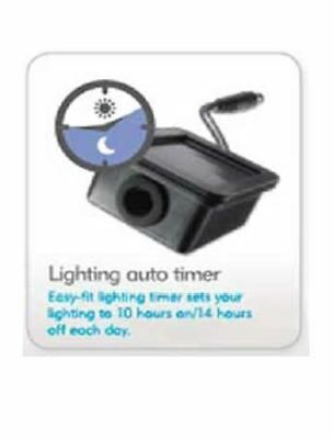 Interpet Insight Aquarium Fish Tank Automatic LED Light Timer