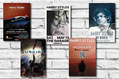 Harry Styles - Set Of 5 - A4 Poster Prints # 1