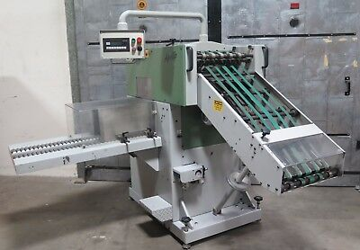 2000 Muller Martini Apollo 1540 Compensating Stacker Counter Stacker