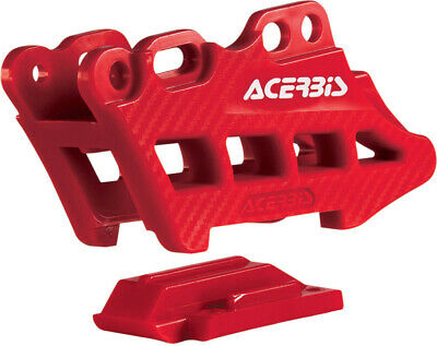 Acerbis Chain Guide Block 2.0 Red Honda Crf250X Crf450X Crf250R Crf450R 2007-16