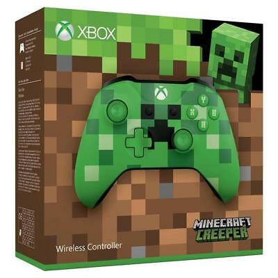Official Minecraft creeper Xbox one Wireless Controller green