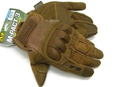 MECHANIX WEAR Size Medium M Coyote Tan M-PACT 3 Tactical Gloves! MP3-72-009