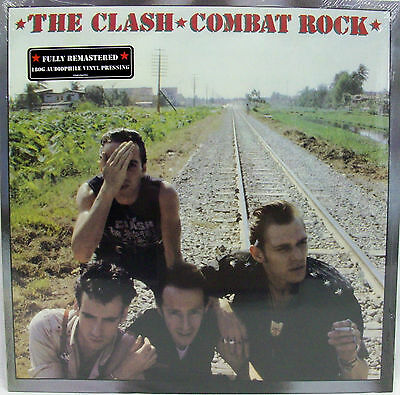 "NEW & Sealed The Clash ""Combat Rock"" LP 180-Gram Vinyl Record (2013) Remastered"