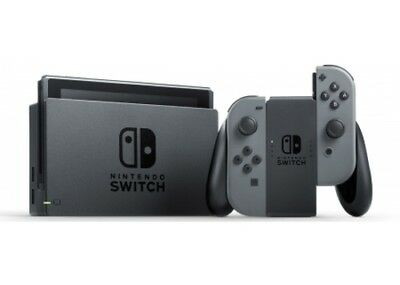 Nintendo Switch with Controllers - Gray (HACSKAAAA)