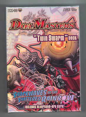 Duel Masters Twin Swarm Deck NEW Shockwaves of the Shattered Rainbow