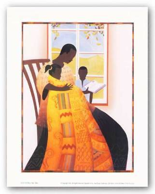 The Gospel Bryan Collier African American Art Print 10x7 The Word