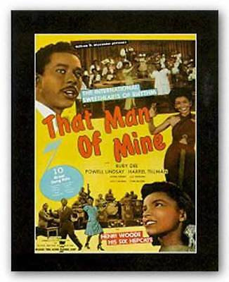 That Man of Mine Reproduction Vintage Poster African American Art Print 22x28
