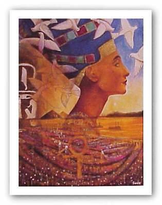 Nubia Limited Edition Jerry Logans African American Art Print 26x38