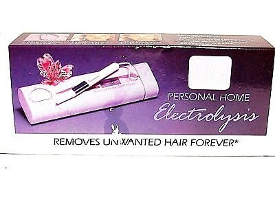 ONE TOUCH HOME ELECTROLYSIS Removes Unwanted Hair4ever!