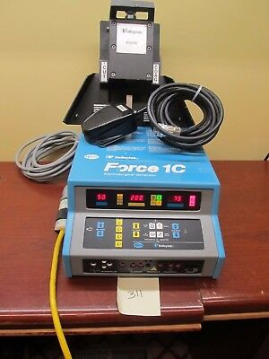 Valley Lab Force C1 Electrosurgical Generator W/ 2 Footswitchs