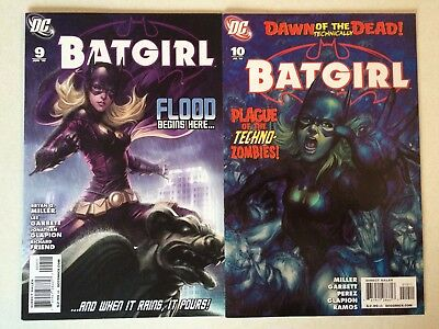 Batgirl #9 and #10 Stanley Lau Artgerm cover art 2010 nice shape