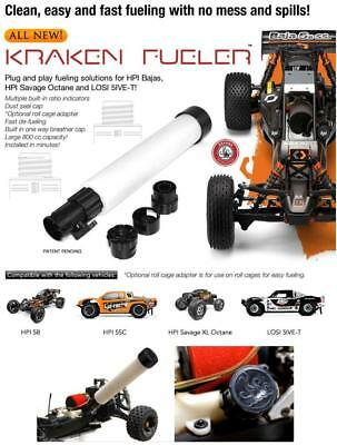 1/5 RC Kraken Fueler Kit for HPI Baja Losi 5ive-T Vekta.5 Savage Octane XL