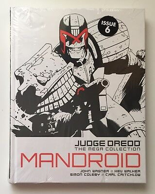 JUDGE DREDD Mandroid Issue 6 The Mega Collection New Sealed Hardback