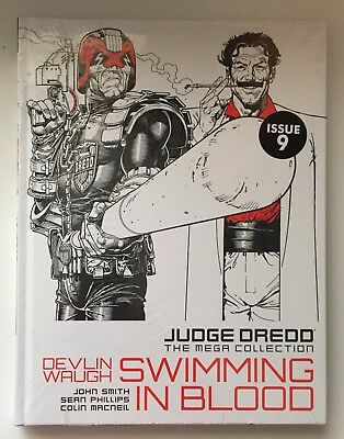 JUDGE DREDD Swimming in Blood Issue 9 The Mega Collection New Sealed Hardback