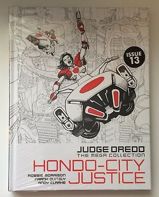JUDGE DREDD Hondo-City Justice Issue 13 The Mega Collection New Sealed Hardback