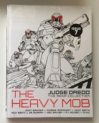JUDGE DREDD The Heavy Mob Issue 7 The Mega Collection New Sealed Hardback