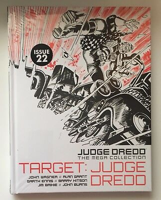 JUDGE DREDD Target: Judge Dredd Issue 22 The Mega Collection New Sealed Hardback