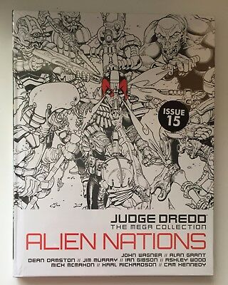 JUDGE DREDD Alien Nations Issue 15 The Mega Collection New & Sealed Hardback