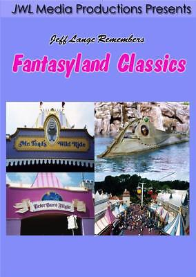 Walt Disney World Fantasyland DVD Vintage Dark Rides, Mr Toad, 20,000 Leagues