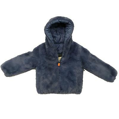 Save the Duck Double Face Bambina J3354GFURY5 Space blue Giubbotto Autunno/Inver