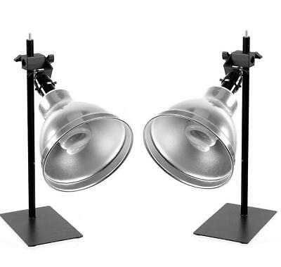 ALZO 100 Cool Lite Photo Light, 2 Light Kit for Product Photography