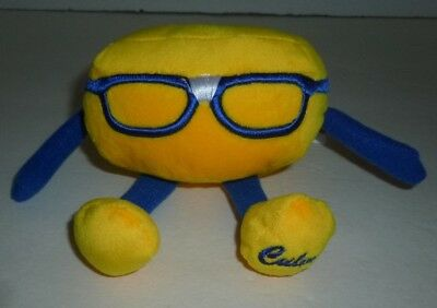 CULVER'S CURDIS Cheese Curd Nerd Promotional Bean Bag Toy - Brand New!!!