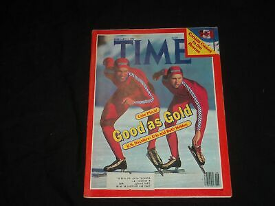1980 February 11 Time Magazine-Eric And Beth Heiden Lake Placid Olympics- T 2331
