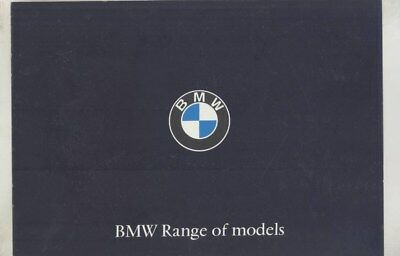 1965 BMW R27 R50 R60 69RS Motorcycle 700 1600 1800 2000CS 3200CS Brochure wy7949