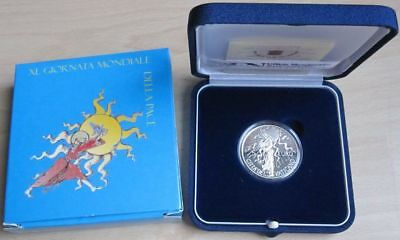 Vatican 5 Euro 2007 World Peace Day Silver