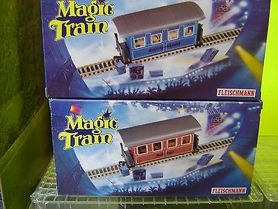 "Fleischmann Magic Train 0e 2314 / 2313 2-teiliges Personenwagenset ""Neu""(AND)"