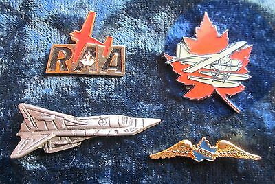 Collection of Aviation Pins Mostly Canadian