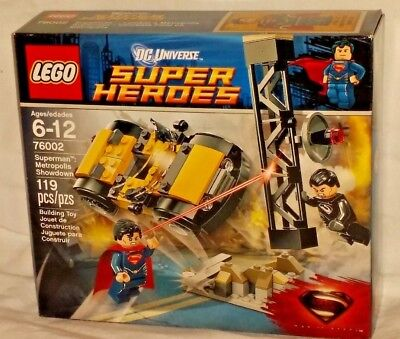 SEALED 76002 LEGO DC Super Heroes SUPERMAN METROPOLIS SHOWDOWN 119pc RETIRED set