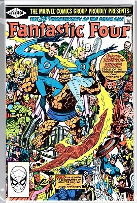 Marvel Comics FANTASTIC FOUR #236 20TH ANNIVERSARY ISSUE HIGH GRADE