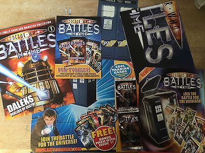 Doctor Who Battles In Time Issue 1 with original Packaging, Posters, Stickers