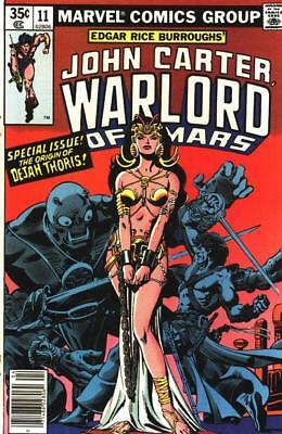 JOHN CARTER WARLORD OF MARS #11 VG/F, Dave Cockrum A, Marvel Comics 1978