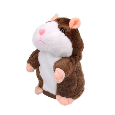 Adorable Electronic Talking Hamster Mouse Repeat What You Say Plush Toy for Kids