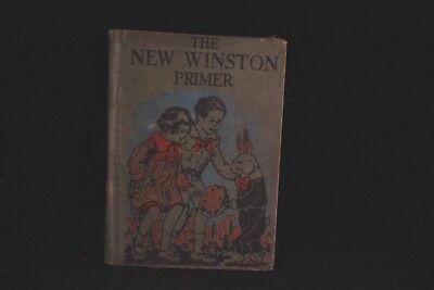 Antique/vintage 1928 The New Winston Primer School Reading Book