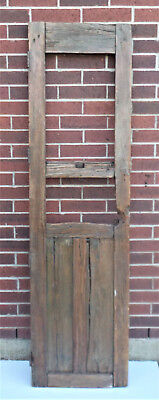 "SPANISH COLONIAL ANTIQUE WOODEN DOOR OLD MEXICO 74 1/2"" x 21 3/8"" x 1 3/4"" ""z"""