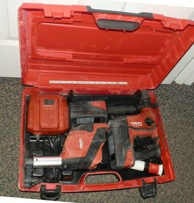 TE 6-A36-AVR SDS cordless Li Ion  rotary hammer drill kit HiLTi 36 V  Good Used