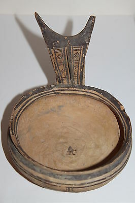 QUALITY ANCIENT GREEK DAUNIAN POTTERY KYATHOS 6th CENTURY BC