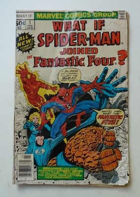 MARVEL  What If #1 Spider-Man Joined the Fantastic Four?