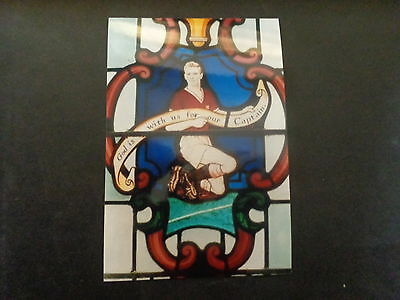 """MANCHESTER UNITED Player DUNCAN EDWARDS Stained glass church 6""""x4"""" PHOTO REPRINT"""