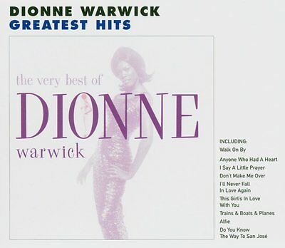 Dionne Warwick Very Best Of CD NEW SEALED Do You Know The Way To San Jose/Alfie+
