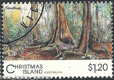 1993 Scenic Views of Christmas Island - $1.20 Rainforest CTO