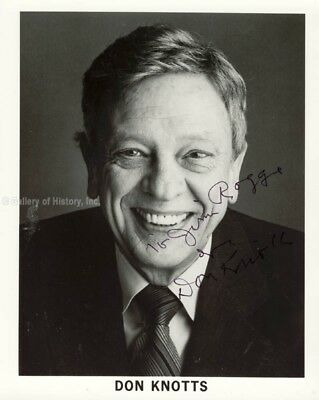 Don Knotts - Inscribed Photograph Signed