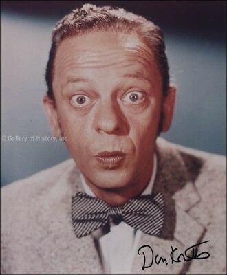 Don Knotts - Photograph Signed