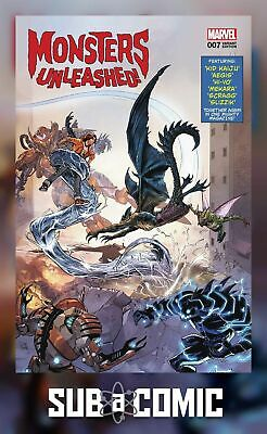 MONSTERS UNLEASHED #7 3D LENTICULAR VARIANT LEGACY (MARVEL 2017 1st Print) COMIC